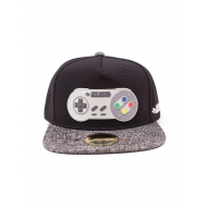 Nintendo - Casquette hip hop Snapback Super  Controller Rubber Patch
