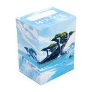 Ultimate Guard - Boite pour cartes Basic Deck Case 80+ taille standard Lands Edition île