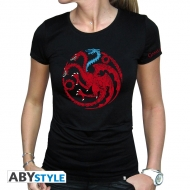 Game Of Thrones - T-shirt Targaryen Viserion femme MC black