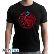 Game Of Thrones - T-shirt Targaryen Viserion -homme MC black - new fit