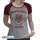 Harry Potter - T-shirt Alumni femme MC gris & rouge - premium