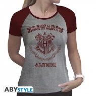 Harry Potter - T-shirt Alumni femme MC gris & rouge - premium