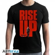 The Walking Dead - T-shirt Rise UP homme MC black - New Fit