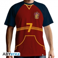 Harry Potter - Maillot de Quidditch homme MC red