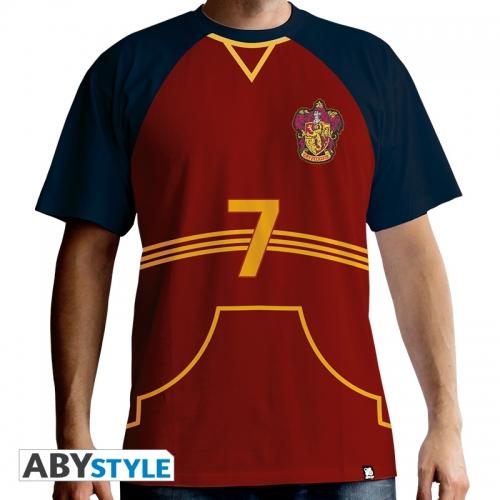 Harry Potter - Maillot de Quidditch homme MC red