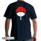 Naruto Shippuden - T-shirt Uchiwa homme MC navy - basic