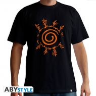 Naruto Shippuden - T-shirt Sceau homme MC black - new fit