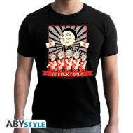 Rick And Morty - T-shirt Vote Morty homme MC black- new fit