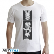 Lapins Cretins - T-shirt Lapins de la Sagesse homme MC white- New Fit
