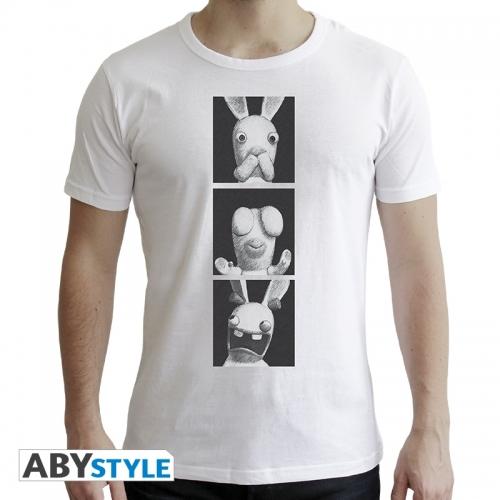 Lapins Cretins - T-shirt Lapins de la Sagesse homme MC white- New Fit