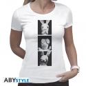 Lapins Cretins - T-shirt Lapins de la Sagesse femme MC white