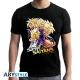 Dragon Ball - T-shirt Saiyans homme MC black