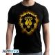 World Of Warcraft - T-shirt Alliance - homme MC black - new fit
