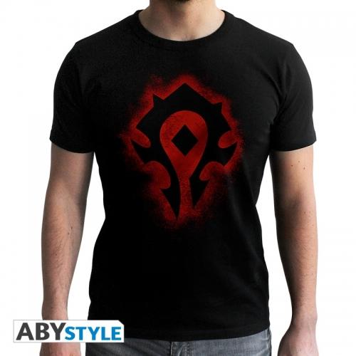 World Of Warcraft - T-shirt Horde - homme MC black - new fit