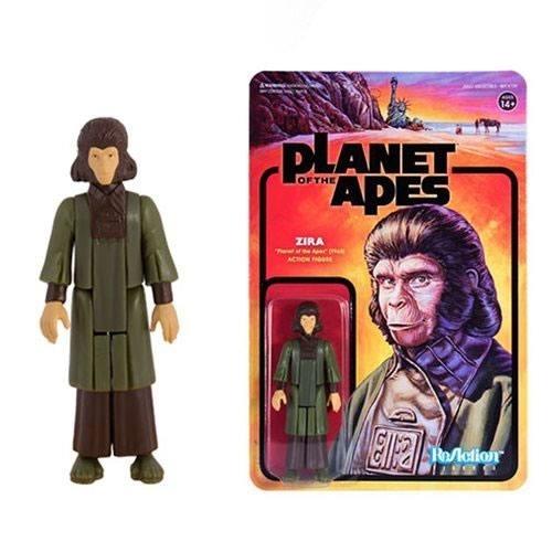 La Planète des singes - Figurine ReAction Zira 10 cm