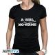 Game Of Thrones - T-shirt A Girl Has No Name femme MC black - basic