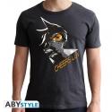 Overwatch - T-shirt Tracer homme MC dark grey - new fit