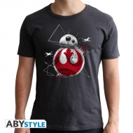 Star Wars - T-shirt BB8 E8 homme MC dark grey  - new fit