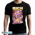 Rick And Morty - T-shirt Film homme MC black- new fit