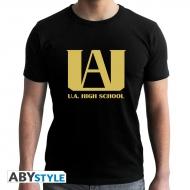 My Hero Academia - Tshirt U.A homme MC black - new fit