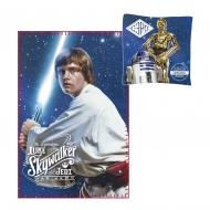 Star Wars - Set coussin & couverture polaire Luke Skywalker & C-3PO & R2-D2