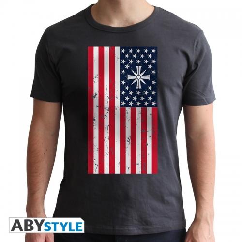 Far Cry - T-shirt Drapeau homme MC dark grey - new fit