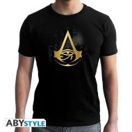 Assassin's Creed - T-shirt homme  Crest doré MC black - new fit *