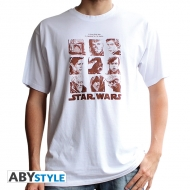 Star Wars - T-shirt Galerie portraits homme MC blanc - basic *
