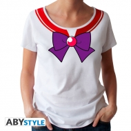 Sailor Moon - T-shirt Sailor Mars femme MC white - premium