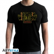 Star Wars - T-shirt Stay on Target homme MC black- new fit