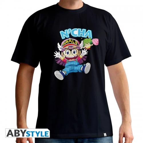 Dr Slump - T-shirt Arale & Gacchan homme MC black