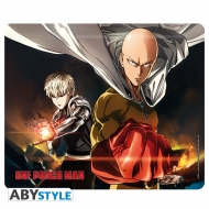 One Punch Man - Tapis de souris Saitama & Genos