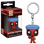 Deadpool - Porte-clés Pocket POP! Deadpool Bathtime 4 cm