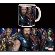 Avengers Infinity War - Mug Guardians & Thor