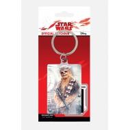 Star Wars Episode VIII - Porte-clés métal Chewbacca Bowcaster 6 cm