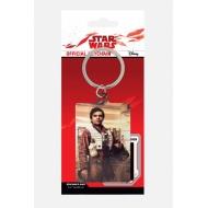 Star Wars Episode VIII - Porte-clés métal Poe Battle Ready 6 cm