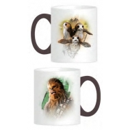 Star Wars Episode VIII - Mug Chewie & Porgs