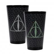 Harry Potter - Verre effet thermique Deathly Hallows