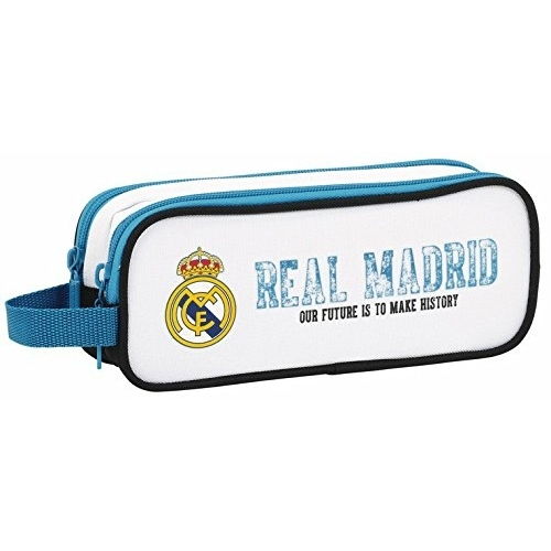 Real Madrid -Trousse double compartiments 21cm