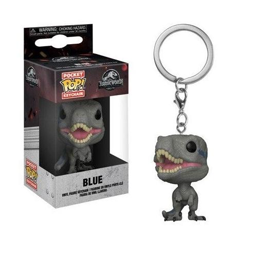 Jurassic World 2 - Porte-clés Pocket POP! Blue 4 cm