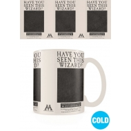 Harry Potter - Mug effet thermique Wanted Sirius Black