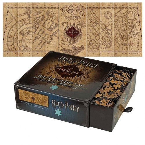 Harry Potter - Puzzle The Marauder's Map Cover