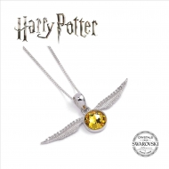 Harry Potter - Pendentif et collier Golden Snitch X Swarovksi