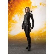 Avengers Infinity War - Figurine S.H. Figuarts Black Widow & Tamashii Effect Explosion 15 cm