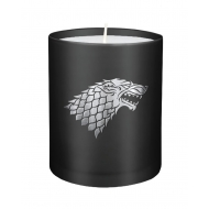 Game of Thrones - Bougie verre House Stark 8 x 9 cm