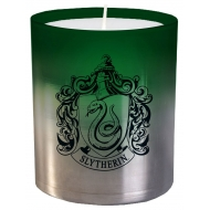 Harry Potter - Bougie verre Slytherin 8 x 9 cm