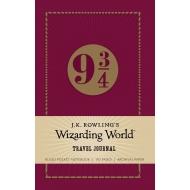 Harry Potter - Mini carnet de notes J.K. Rowling's Wizarding World Travel Journal Platform 9 3/4