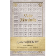 Game of Thrones - Carnet de notes Valar Morghulis