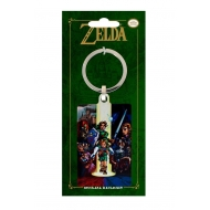 The Legend of Zelda Ocarina of Time - Porte-clés métal 6 cm