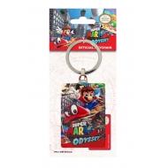 Nintendo - Porte-clés métal Cover Super Mario Odyssey 6 cm